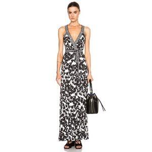 Diane Von Furstenberg Samson Wrap Maxi Dress